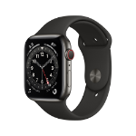 Apple Watch Series 6 OLED 44 mm Graphite 4G GPS (satellite)