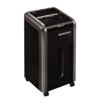 Fellowes 225Mi paper shredder Micro-cut shredding 24 cm Black
