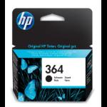 HP 364 Black Ink Cartridge inktcartridge Original Zwart 1 stuk(s)