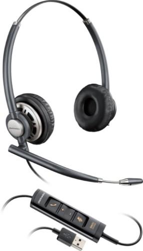 Plantronics Encorepro HW725 Headset Head-band Black,Silver