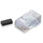 Black Box FM860-10PAK wire connector RJ-45 Transparent