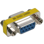 Cablenet GENCHAN9FF cable interface/gender adapter DB9 Blue,Silver,Yellow