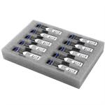 StarTech.com Gigabit Fiber SFP Transceiver Module - Cisco GLC-LH-SMD Compatible - SM/MM LC - 10km / 550m - 10 Pack