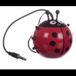 KitSound KSNMBLB Mono portable speaker 2W Black, Red