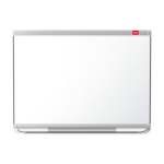 Nobo Prestige Enamel Magnetic Whiteboard 1800x1200mm with Connex Trim