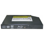HP Blu-ray R/RE DVD±RW SuperMulti Internal Blu-Ray RW Black optical disc drive