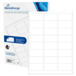 MediaRange MRINK150 self-adhesive label White Permanent 1200 pc(s)