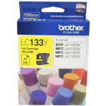 BROTHER LC-133Y INK CARTRIDGE YELLOW