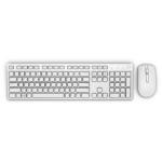 DELL KM636 Tastatur RF Wireless QWERTY US International Weiß