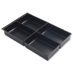Bisley BY00629 desk drawer organizer Black