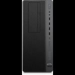 HP EliteDesk 800 G4 8th gen Intel® Core™ i7 i7-8700 16 GB DDR4-SDRAM 1256 GB HDD+SSD Black,Silver Tower Workstation