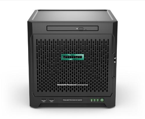 Hewlett Packard Enterprise ProLiant MicroServer Gen10 server AMD Opteron 1.8 GHz 8 GB DDR4-SDRAM 16 TB Ultra Micro Tower 200 W