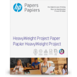 HP 40-lb Heavyweight Project Paper/250 sheet/Letter/8.5 x 11 in printing paper
