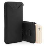 "TheSnugg B00NINN1MA 4.7"" Pouch case Black mobile phone case"