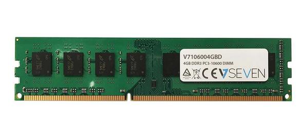 V7 4GB DDR3 PC3-10600 - 1333mhz DIMM Desktop módulo de memoria - V7106004GBD