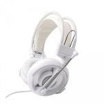 E-blue Cobra HS Binaural Head-band White headset