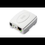 Digitus Fast Ethernet Print Server, USB 2.0