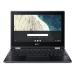 """Acer Chromebook R752TN-C32N Black 29.5 cm (11.6"""") 1366 x 768 pixels Touchscreen Intel® Celeron® 4 GB LPDDR4-SDRAM 32 GB Flash Wi-Fi 5 (802.11ac) Chrome OS"""
