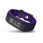 Garmin vívosmart HR+ Wireless Wristband activity tracker Black,Purple