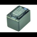 2-Power Camcorder Battery 3.6V 2400mAh