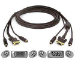 Belkin Cable Kit PS2 KVM Gold 1.8m f Omview