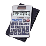 Aurora HC208TX calculator Pocket Basic Silver