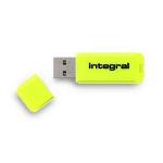 Integral NEON USB flash drive 64 GB USB Type-A 2 Yellow
