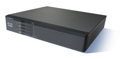 Cisco 867VAE wired router Gigabit Ethernet Black