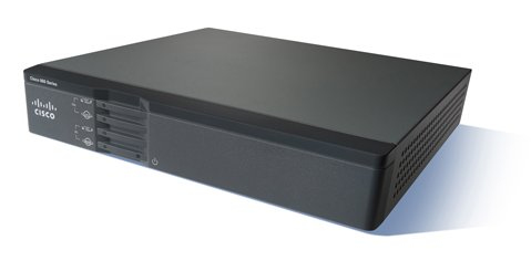 Cisco 867VAE router Gigabit Ethernet Negro