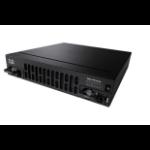 Cisco ISR 4321 router Gigabit Ethernet Negro