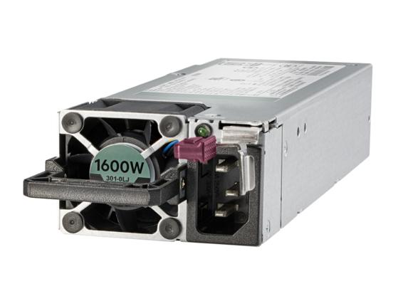 Hewlett Packard Enterprise 830272-B21 unidad de fuente de alimentación 1600 W Negro, Gris