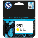 HP CN052AE (951) Ink cartridge yellow, 700 pages, 10ml