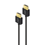 ALOGIC 1m AIR Series Super Thin & Flexible HDMI Cable with Ethernet & Locking Connectors Ver 2.0 - Male to Male