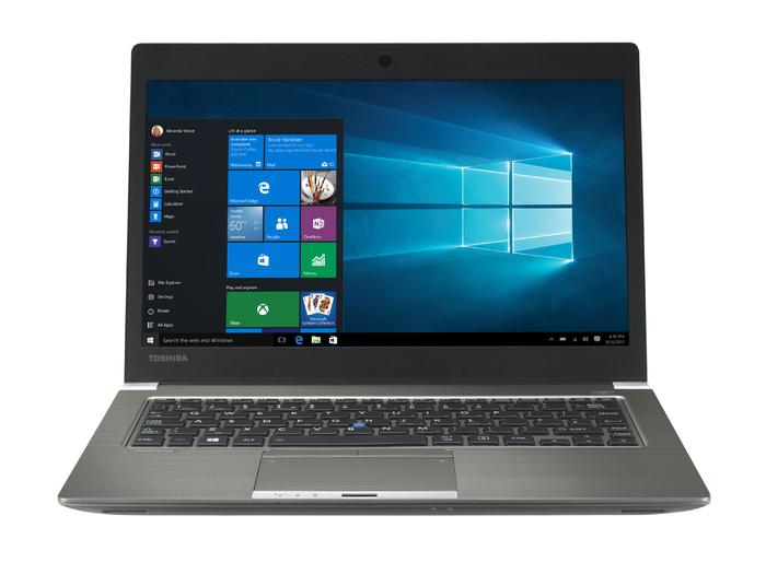 """Toshiba Portégé Z30-C-16H Grey,Metallic Notebook 33.8 cm (13.3"""") 1920 x 1080 pixels 6th gen Intel® Core™ i5 i5-6200U 4 GB DDR3L-SDRAM 128 GB SSD"""