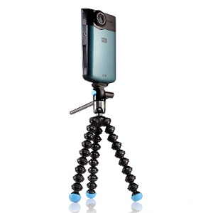Joby GorillaPod Video Digital/film cameras Black tripod