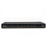 Vertiv Cybex SC 885DP KVM switch Rack mounting Black