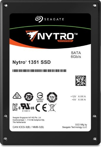"Seagate Nytro 1351 internal solid state drive 2.5"" 960 GB Serial ATA III 3D TLC"