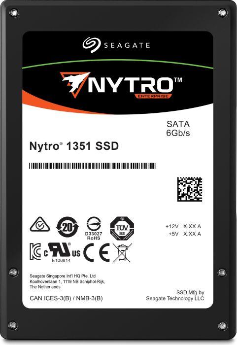 "Seagate Nytro 1351 internal solid state drive 2.5"" 960 GB Serial ATA III 3D TLC"