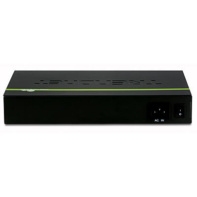 Trendnet TEG-S16DG switch No administrado Negro