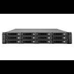 QNAP REXP-1220U-RP 48000GB Rack (2U) Black disk array REXP-1220U-RP/48TB-EXOS