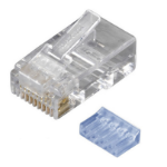 Black Box FMTP6-R2-250PAK wire connector RJ-45 Transparent
