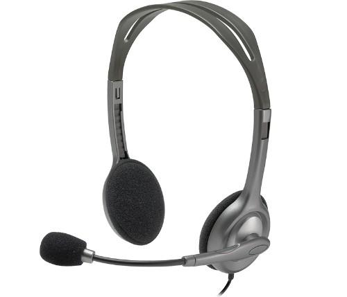 Logitech H110 Stereo Headset Head-band Black