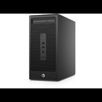 HP 200 285 G2 MT 3.6GHz A6-5400B Micro Tower Black