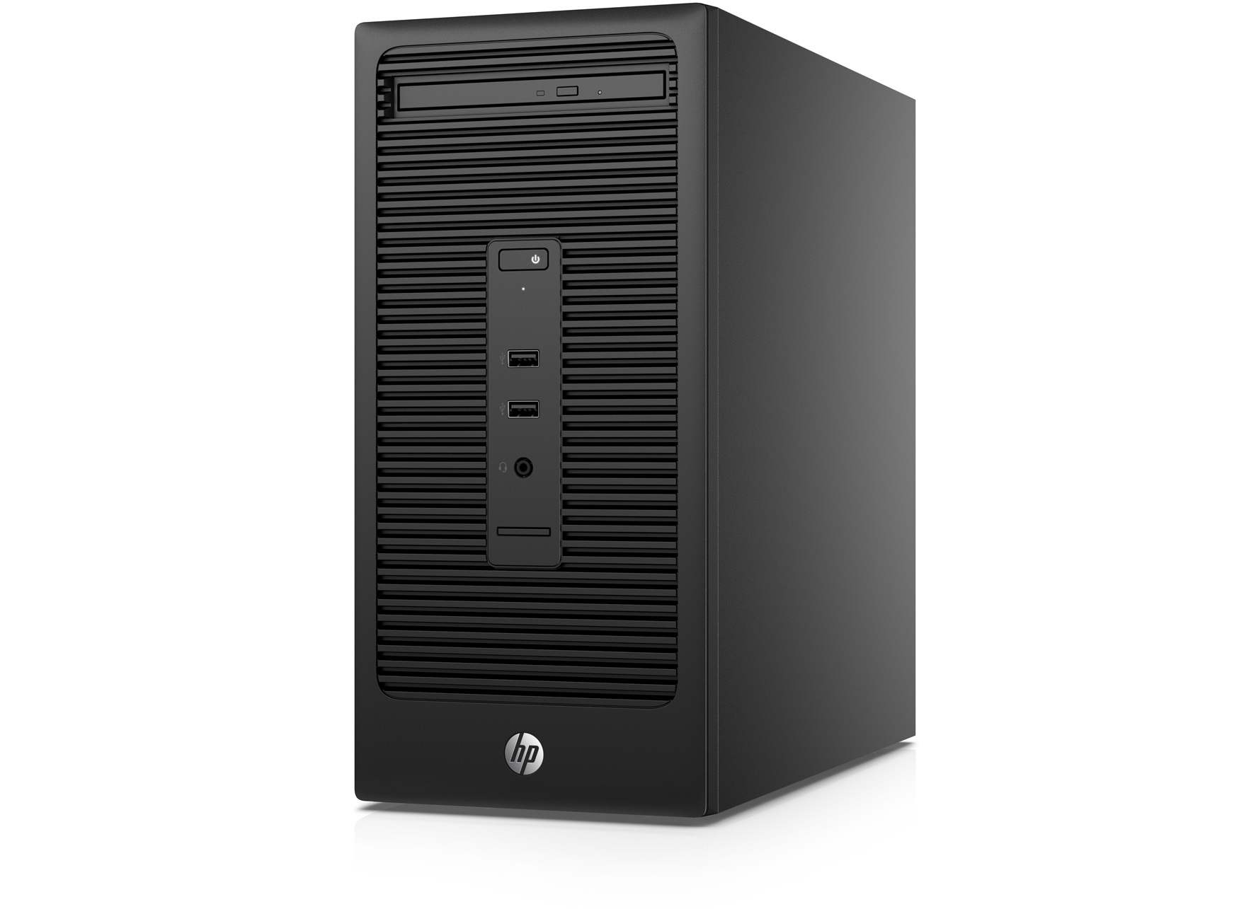 HP 200 285 G2 MT 3.6GHz A6-5400B Micro Tower Black