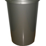 ADDIS 50L BULLET BIN BASE GREY 507825