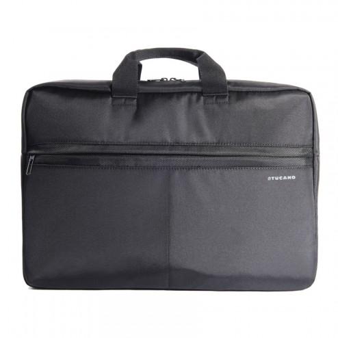 """Tucano Tratto Large 17.3"""" Briefcase Black"""