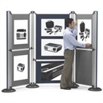 Nobo Modular Display System - Small Panel (A1) Felt