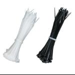 Black Box FT610 cable tie Black, Transparent 100 pc(s)
