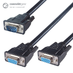 CONNEkT Gear 150mm VGA Monitor Splitter Cable - Male to 2 x Female