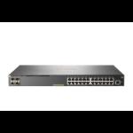 Hewlett Packard Enterprise Aruba 2930F 24G PoE+ 4SFP Managed L3 Gigabit Ethernet (10/100/1000) Power over Ethernet (PoE) 1U Gray